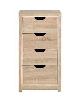 Very  Aspen Slim 4 Drawer Chest