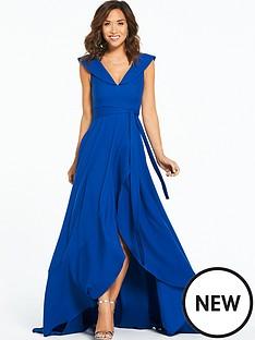 myleene-klass-off-the-shoulder-tie-maxi-dress-cobalt