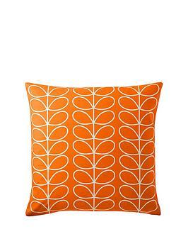 orla-kiely-small-linear-stem-reversible-cushion-persimmon
