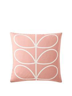 orla-kiely-linear-stem-reversible-cushion-pale-rose