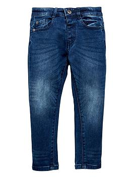 mini-v-by-very-mid-wash-knitted-denim-jean