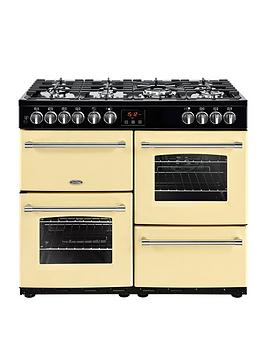 Belling   Farmhouse 100Dft 100Cm Dual Fuel Range Cooker - Cream