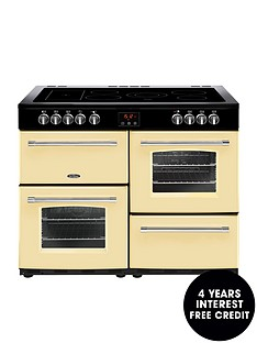 belling-farmhouse-100e-100cm-electric-ceramic-range-cooker-cream