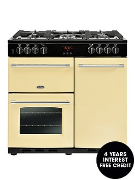 belling-farmhouse-90dft-90cm-dual-fuel-range-cooker-with-connection-cream