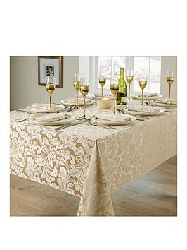 cadiz-8-place-setting-tablecloth-and-napkin-set-ndash-champagne