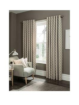 Studio G Studio G Castello Lined Eyelet Curtains Picture