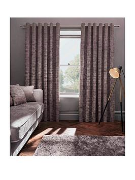 Studio G Naples Lined Eyelet Curtains