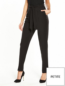 v-by-very-the-petite-tapered-leg-trouser-black
