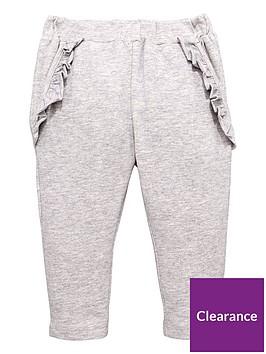 mini-v-by-very-girls-lurex-ruffle-jogger-grey