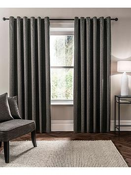 Studio G Studio G Verona Lined Eyelet Curtains Picture