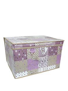 printed-vintage-patchwork-storage-box