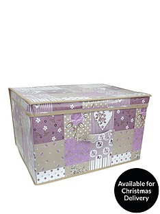 printed-vintage-patchwork-storage-box