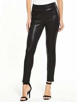 V by Very V By Very Premium Wet Look Legging - Black Picture