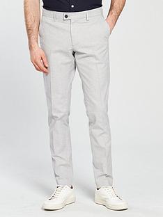 selected-homme-galenbspsuit-trouser-grey-marlnbsp