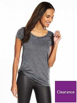 v-by-very-washed-knot-front-t-shirt-grey