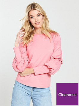 v-by-very-balloon-sleeve-top-blush