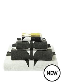 orla-kiely-house-large-stem-pack-of-2-hand-towels-ndash-dark-duck-egg