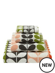 orla-kiely-house-multi-stem-pack-of-2-bath-sheets-ndash-classic
