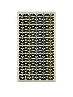 orla-kiely-house-multi-stem-pack-of-2-bath-towels-ndash-moss