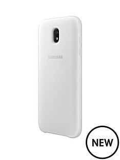 samsung-j3-dual-layer-cover-white