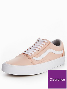 vans-old-skool-leather-pink