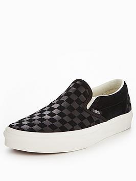vans-ua-classic-checker-embossed-slip-ons