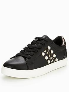 v-by-very-angelina-pearl-and-stud-trainer-black