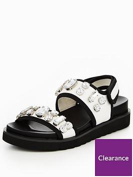 v-by-very-dakota-sporty-embellished-chunky-flat-sandal