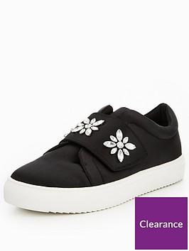 v-by-very-athena-embellished-strap-trainer-black