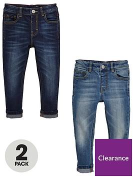 mini-v-by-very-boys-2-pack-slim-jeans