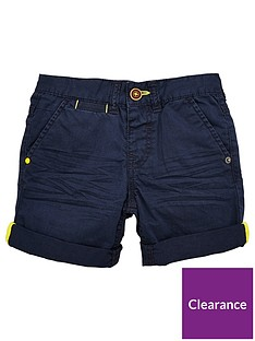 mini-v-by-very-boys-roll-up-shorts-navy