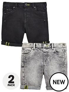 mini-v-by-very-boys-2-pack-denim-short