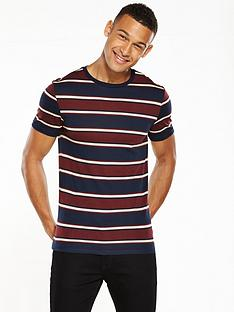river-island-ss-muscle-fit-stripe-tshirt