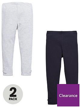 mini-v-by-very-girls-2-pack-bow-hem-leggings