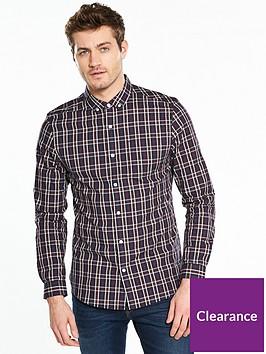 v-by-very-long-sleeve-large-check-shirt-navy