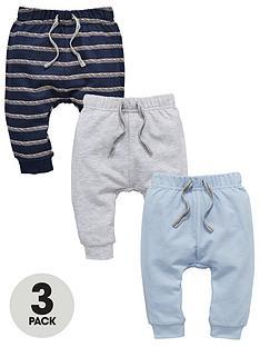 mini-v-by-very-baby-boys-3-pack-stripe-amp-plain-joggers