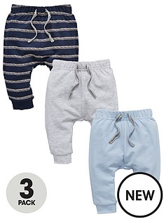 mini-v-by-very-baby-boys-3-pack-stripe-amp-plain-joggers