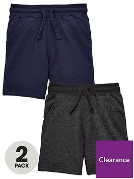 mini-v-by-very-toddler-boys-2-pack-sweat-shorts-navygrey