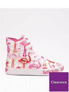 lelli-kelly-flamingo-hi-top