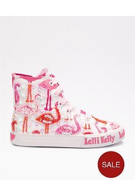 lelli-kelly-flamingo-hi-top