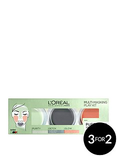 loreal-paris-target-problem-skin-with-thenbsploreal-paris-pure-clay-mask-multi-masking-kit