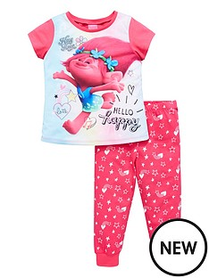dreamworks-trolls-trolls-girls-short-sleeve-pyjamas