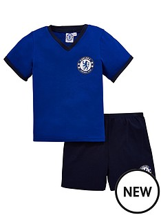chelsea-unisex-shorty-football-pyjamas