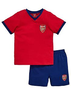 arsenal-shorty-football-pyjamas-set