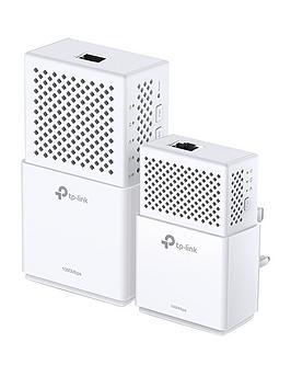 tp-link-1000mbps-gigabit-powerline-750mbps-ac-wi-fi-kit-ndash-1-port-tl-wpa7510-kit