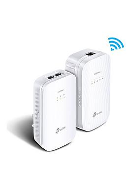 tp-link-2000mbps-gigabit-gaming-powerline-1200mbps-ac-wi-fi-kit-ndash-2-ports-tl-wpa9610nbspkit