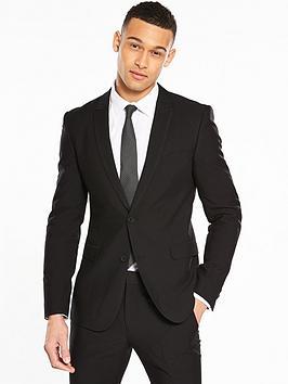 v-by-very-skinny-herringbone-jacket-black