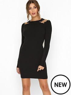 girls-on-film-gold-chain-detail-bodycon-knitted-dress-black