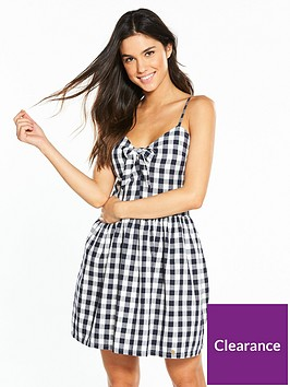 superdry-alice-knot-dress-mono-gingham