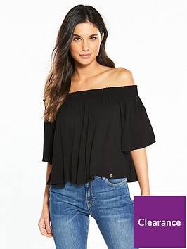 superdry-alia-off-shoulder-blouse-black